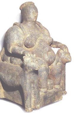 Dea del parto di Catal Huyuk la storia della Dea