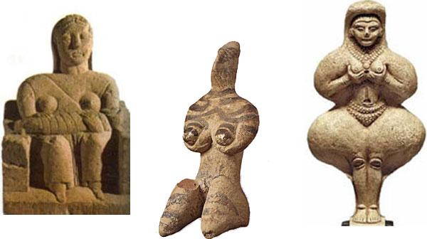 Dea preistorica (Madrecapuana Dea spiral Venere Inannah)