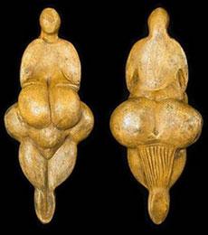 Dee preistoriche Venere di Lespugne