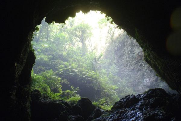 Uscita grotta la storia della Dea