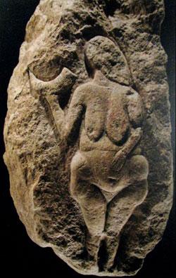 Venere di Laussel la Dea nella preistoria